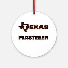 Texas Plasterer Ornament (Round)