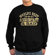 World's Best Accountant and Dad Sweatshirt