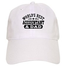 World's Best Accountant and Dad Baseball Baseball Cap