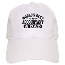 World's Best Accountant and Dad Baseball Cap