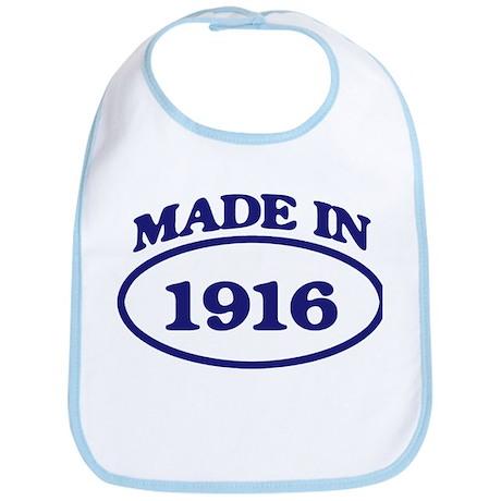Made in 1916 Bib