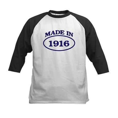 Made in 1916 Kids Baseball Jersey