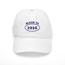 Made in 1916 Cap