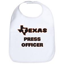 Texas Press Officer Bib