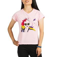 Paint Girl Performance Dry T-Shirt