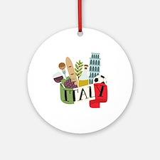 Italy 1 Ornament (Round)