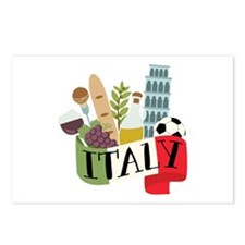 Italy 1 Postcards (Package of 8)