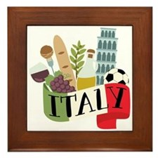 Italy 1 Framed Tile