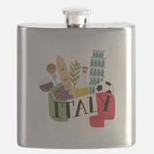 Italy 1 Flask