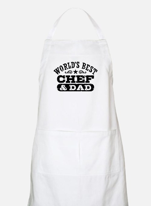 World's Best Chef and Dad Apron