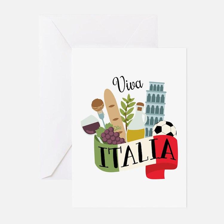 Viva Italia Greeting Cards