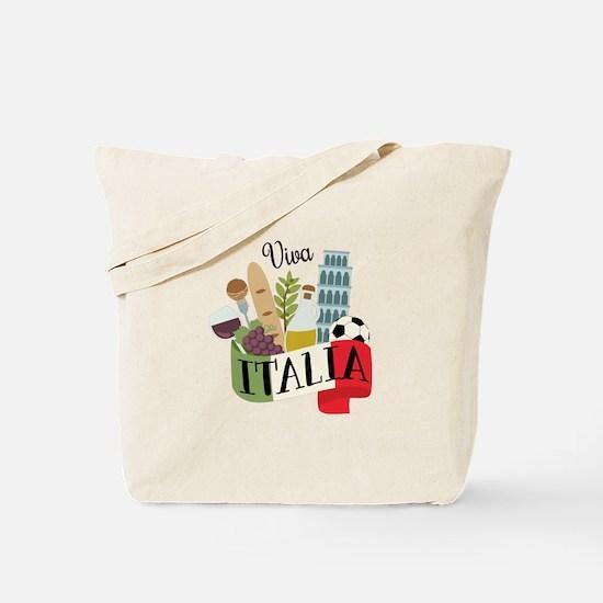 Viva Italia Tote Bag