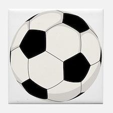 Soccer Ball Tile Coaster