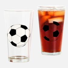 Soccer Ball Drinking Glass