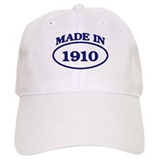 Made in 1910 Baseball Cap