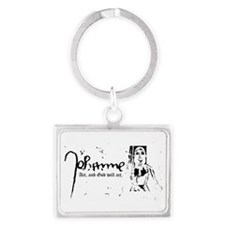 Joan of Arc - Act, and God will act. (In Keychains