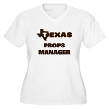 Texas Props Manager Plus Size T-Shirt