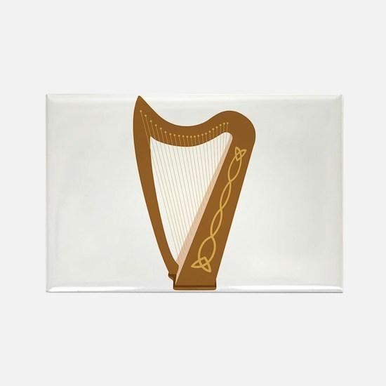 Celtic Harp Magnets