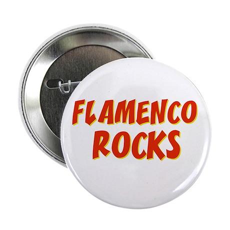Flamenco Rocks Button