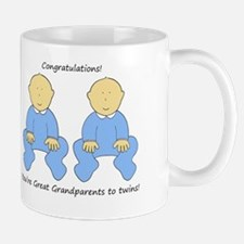 Congratulations you're Great Grandparen Mug