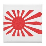 Japanese flag tees Drink Coasters
