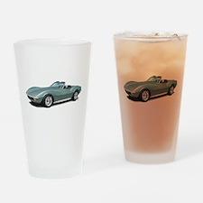 corvette convertible stingray Drinking Glass