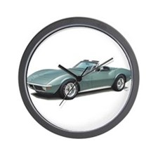 corvette convertible stingray Wall Clock