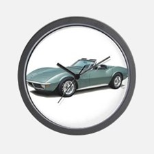 corvette convertible stingray Wall Clock