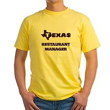 Texas Restaurant Manager T-Shirt