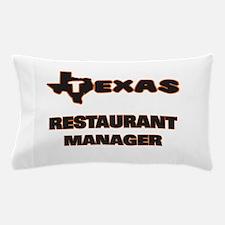 Texas Restaurant Manager Pillow Case