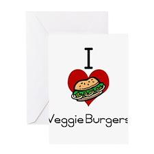 I love-heart tomato Greeting Card