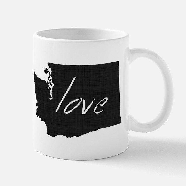 Love Washington Small Small Mug