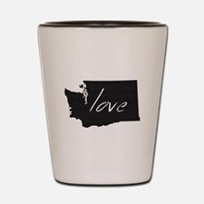 Love Washington Shot Glass