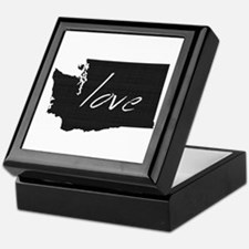 Love Washington Keepsake Box