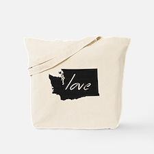 Love Washington Tote Bag