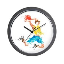 In Throw Wall Clock