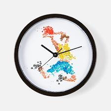 In Throw Wall Clock