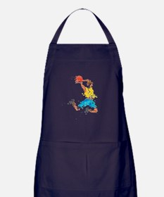 In Throw Apron (dark)