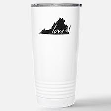 Love Virginia Stainless Steel Travel Mug