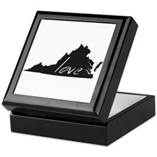 Love Virginia Keepsake Box