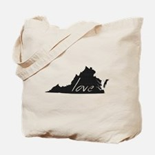 Love Virginia Tote Bag