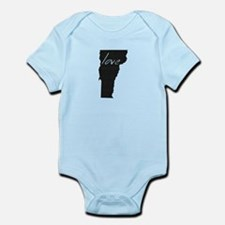 Love Vermont Infant Bodysuit