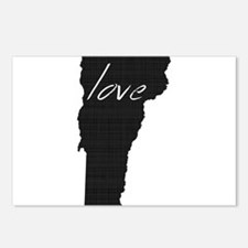 Love Vermont Postcards (Package of 8)