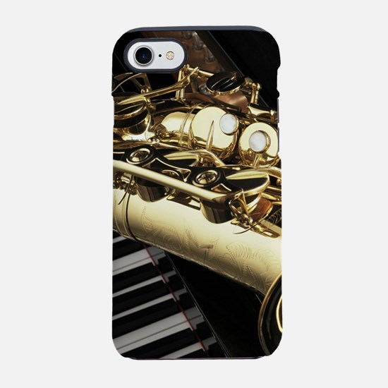 Saxophone And Piano iPhone 7 Tough Case