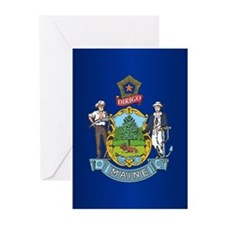 Maine (F15)b Greeting Cards