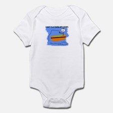 I WANT TO GO FISHING WITH GRANDPA Infant Bodysuit