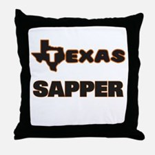 Texas Sapper Throw Pillow