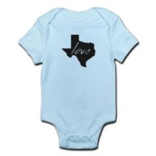 Love Texas Infant Bodysuit