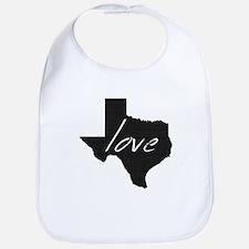 Love Texas Bib