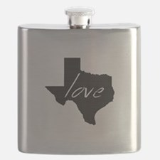 Love Texas Flask